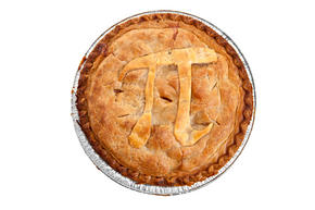 Pie with Pi symbol
