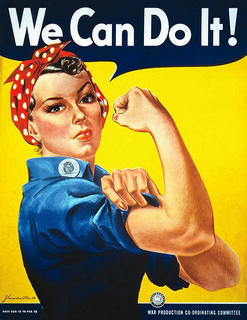 Rosie the Riveter (We Can Do It!) Poster