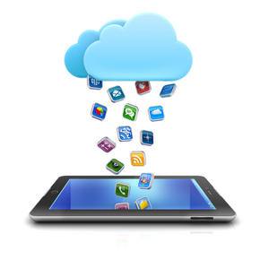 Cloud raining apps into iPad