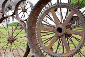 wagon wheel spokes