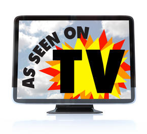 """As Seen On TV"" advertisement"