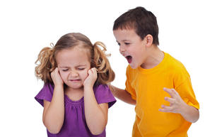 Children arguing