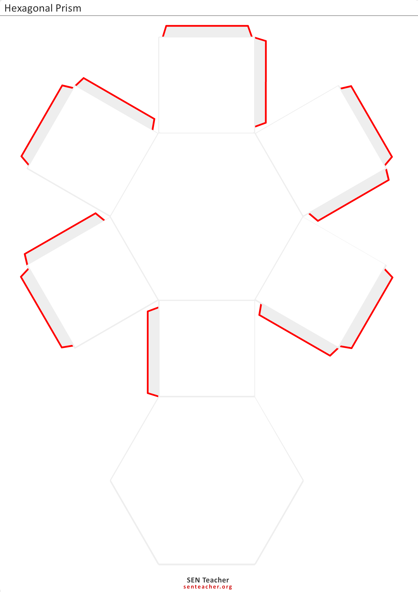 Hexagonal prism