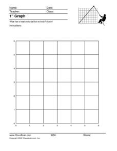 1 Inch Graph Worksheet