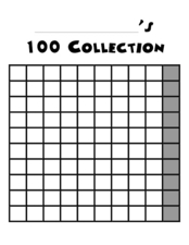 100 Collection Worksheet