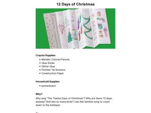 12 Days of Christmas Lesson Plan
