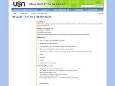 1st Grade - Act. 09: Freedom Quilt Lesson Plan