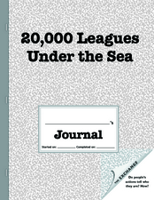 20,000 Leagues Under The Sea Worksheet