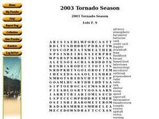 2003 Tornado Season Worksheet