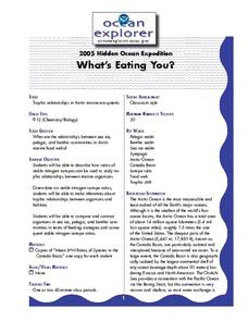 2005 Hidden Ocean Expedition What's Eating You? Lesson Plan