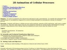 2D Animation of Cellular Processes Lesson Plan