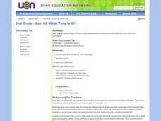 2nd Grade - Act. 04: What Time Is It? Lesson Plan