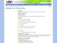 2nd Grade - Act. 17: Source Relay Lesson Plan