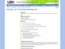 2nd Grade - Act. 18: Our Class & the Magic Pot Lesson Plan