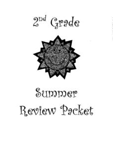 2nd Grade Summer Review Packet Lesson Plan