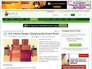 Interior Room Design Lesson Plan Handout Interior Design