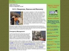 9-1-1: Response, Rescue and Recovery Lesson Plan