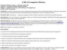 A Bit of Computer History Lesson Plan