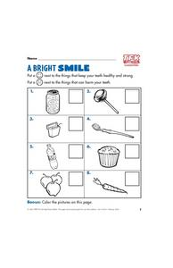 A Bright Smile Lesson Plan
