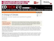 A Change of Climate Lesson Plan