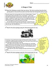A Change of View Lesson Plan