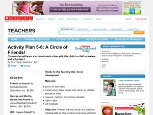 A Circle of Friends! Lesson Plan