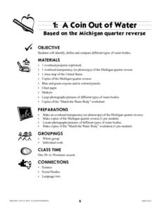 A Coin Out of Water Lesson Plan