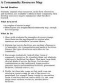 A Community Resource Map Lesson Plan