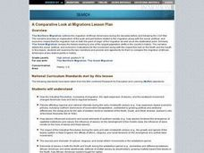 A Comparative Look at Migrations Lesson Plan