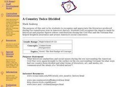 A Country Twice Divided Lesson Plan