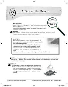 A Day at the Beach Lesson Plan
