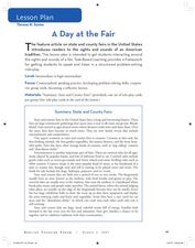 A Day at the Fair Lesson Plan