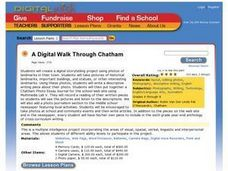 A Digital Walk Through Chatham Lesson Plan