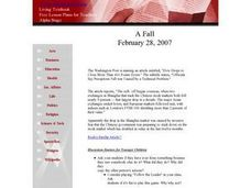 A Fall Lesson Plan