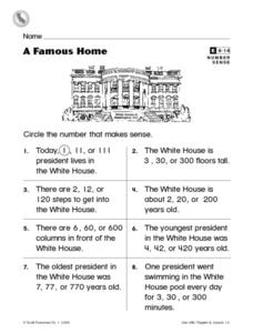 A Famous Home Worksheet