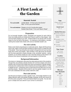 A First Look at the Garden Lesson Plan