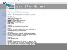 A Further Look at the Content of Concrete Lesson Plan