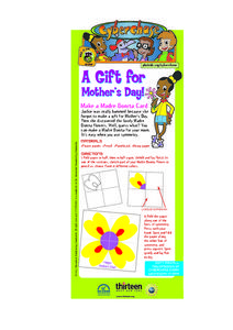 A Gift for Mother's Day Lesson Plan