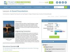 A Good Foundation Lesson Plan