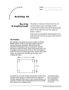 A Graphical Look Lesson Plan