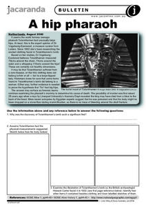 A Hip Pharaoh Worksheet