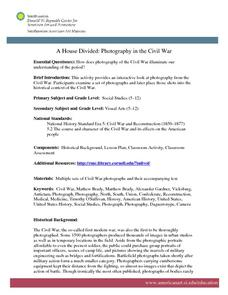 A House Divided: Photography in the Civil War Lesson Plan