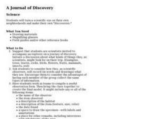 A Journal of Discovery Lesson Plan