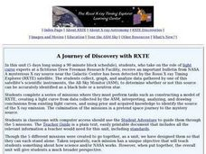 A Journey of Discovery with RXTE Lesson Plan