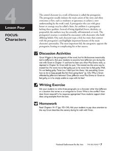 a lesson before dying unit plan pdf