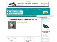 A Limnology Study of Drainage Ditches Lesson Plan