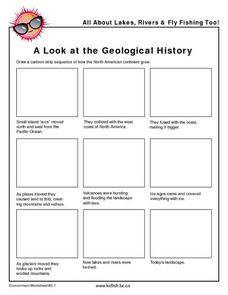 A Look at the Geological History Worksheet