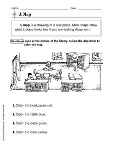 A Map Worksheet