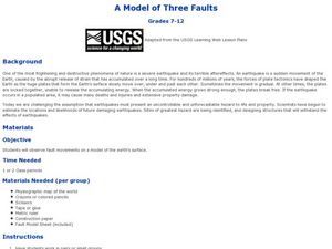 A Model of Three Faults Lesson Plan