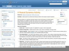 A Musical Dynamics Activity Lesson Plan